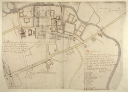 Manuscript Plan of Cambridge 44